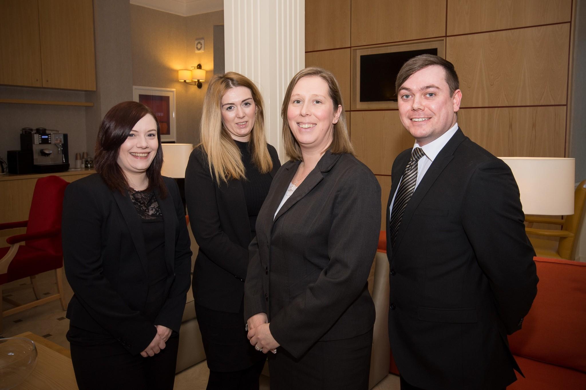 Samantha Thompson, Lauren Craigie, Angela Greenhalgh & Scott Cairns, Skene House 2