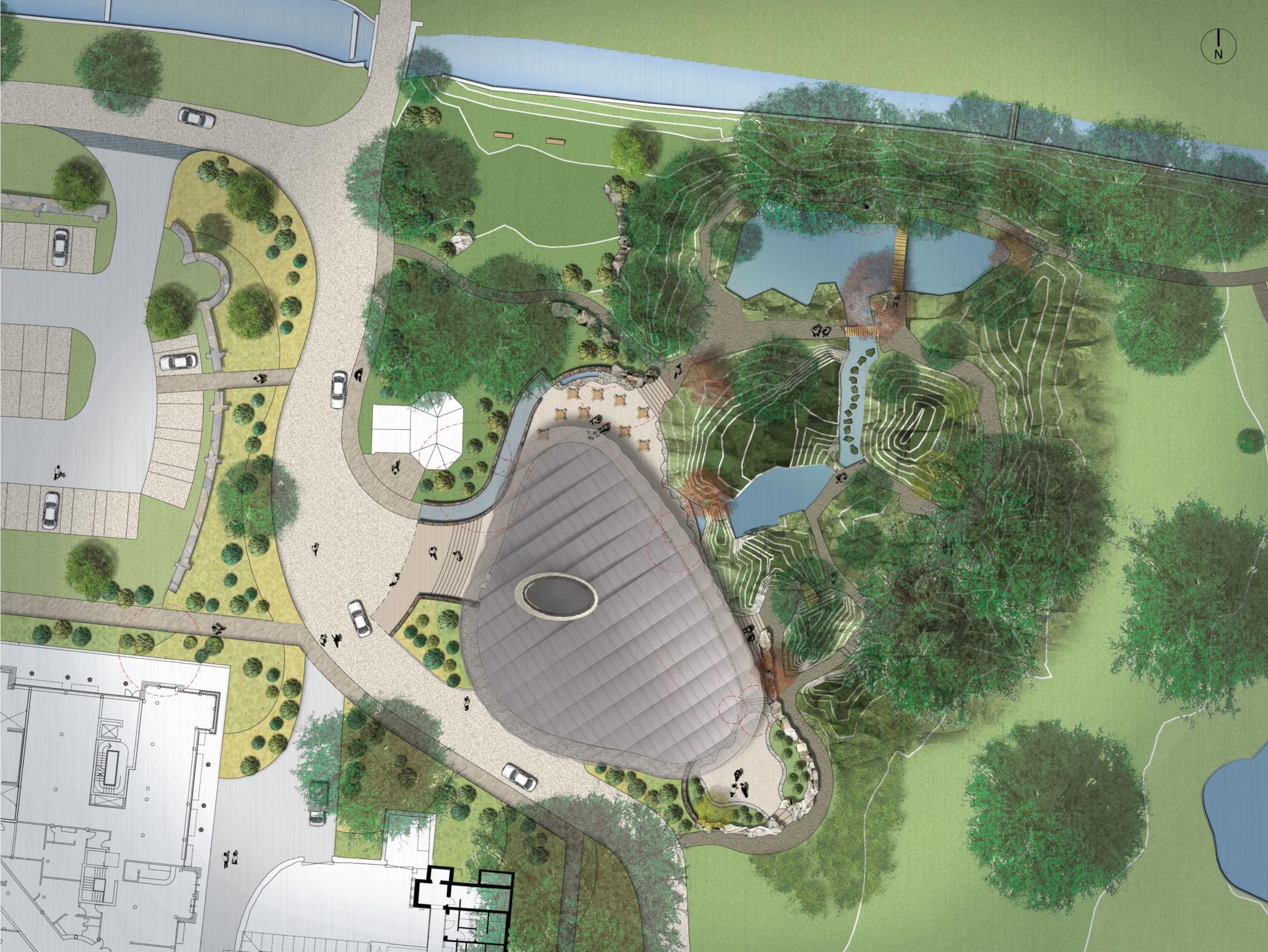 Grantley Hall Phase II Birdseye view