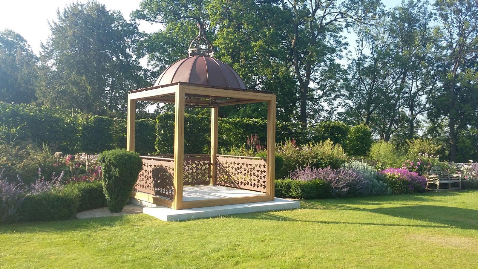 The Wood Norton's New Outdoor Wedding Pavilion