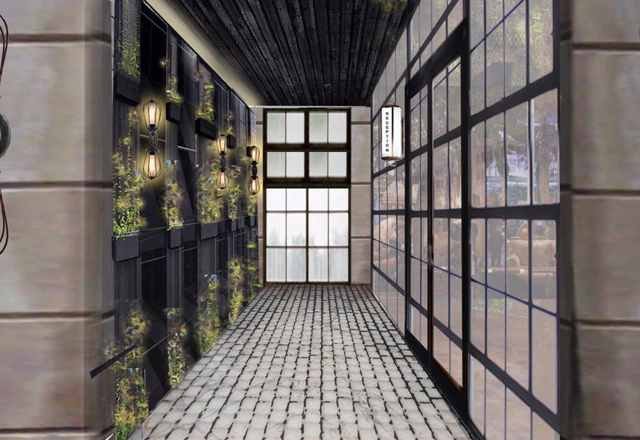 Vintry&Mercer Hotel – Entrance