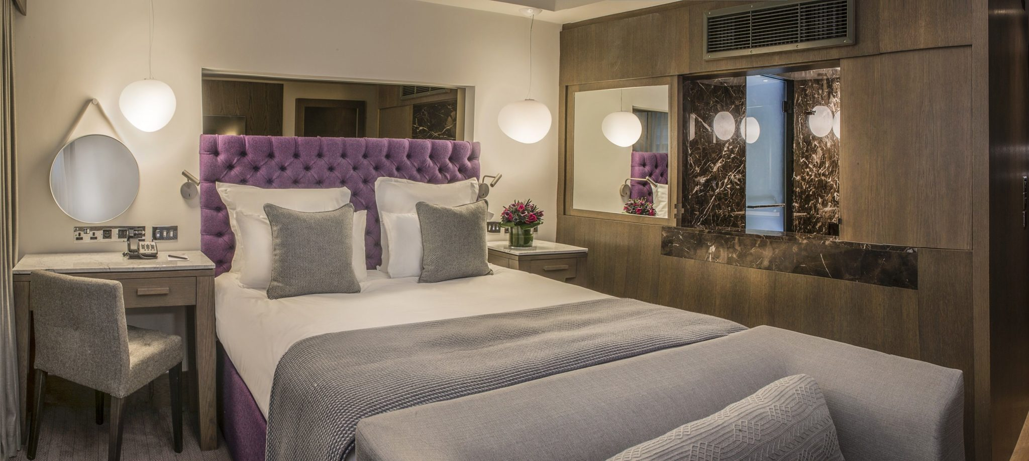 Blythswood Square superior bedroom 2018
