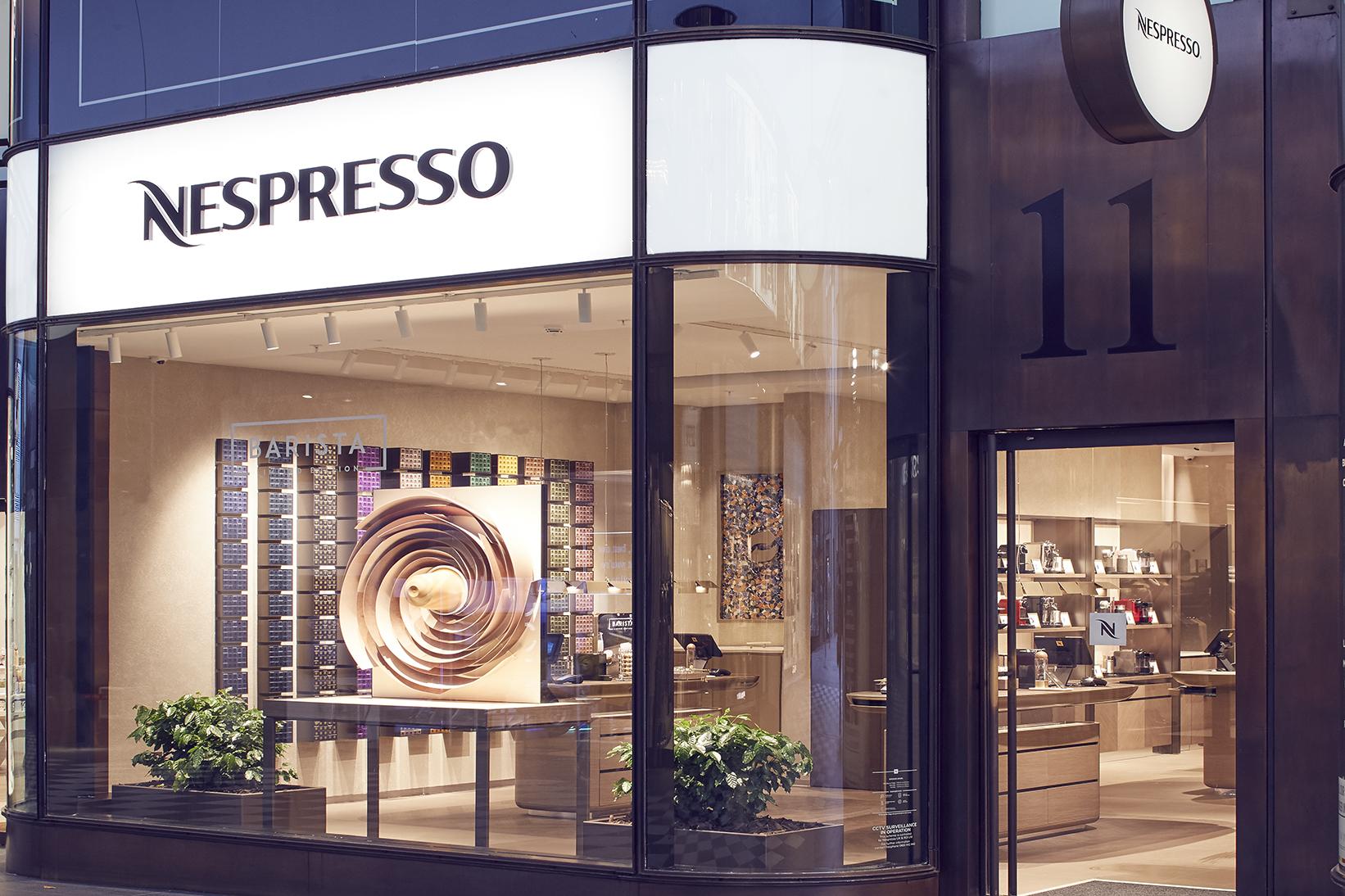 Nespresso Liverpool Boutique exterior