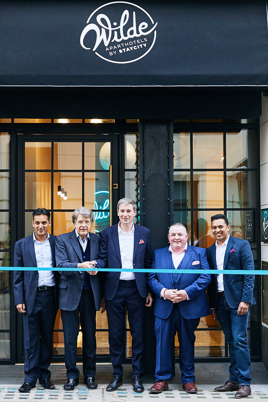 Staycity launch of Wilde Hotel, comm by Linda Pettit