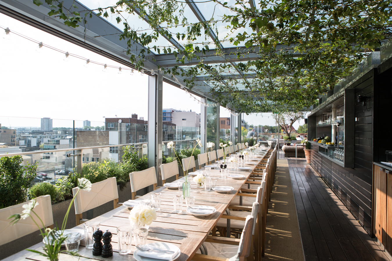 Boundary rooftop – Long Table