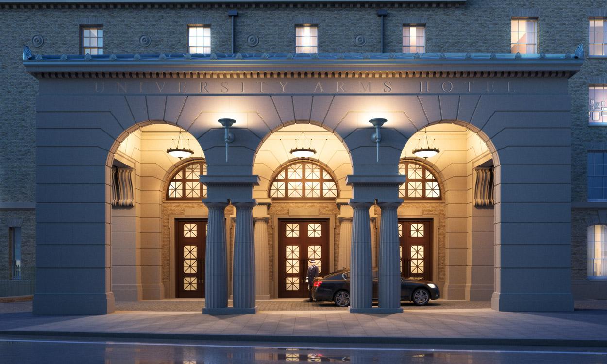 University-Arms-Hotel-Entrance