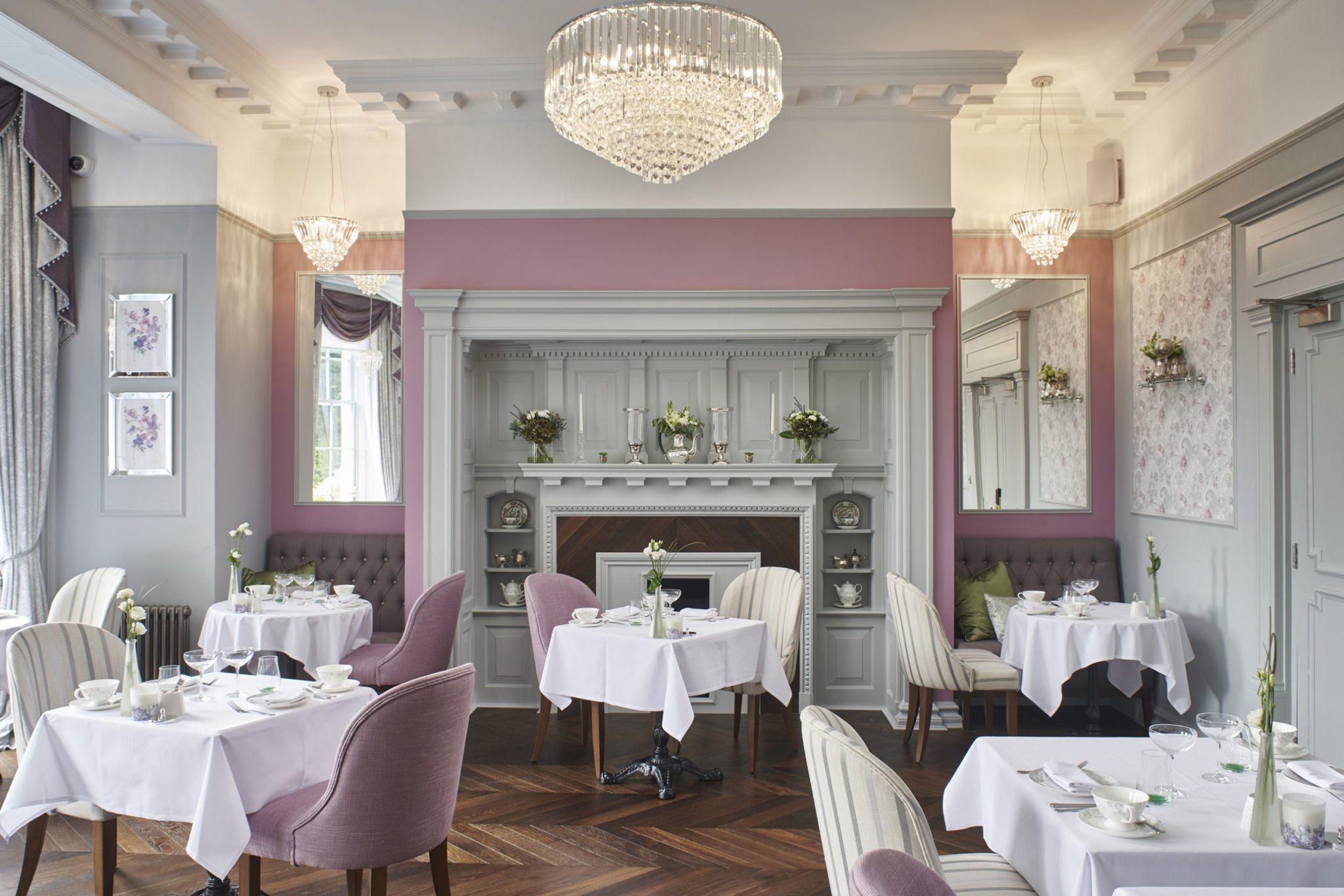 Laura Ashley The Tea Room at Burnham Beeches Hotel