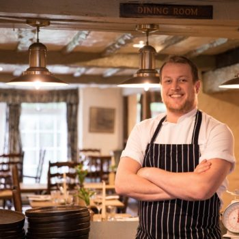 Gordon Stewart new head chef at the Wild Boar Inn 1