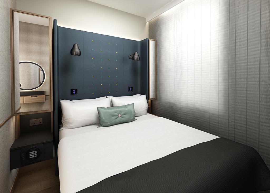 Point A Guest Bedroom Kensington and Edinburgh