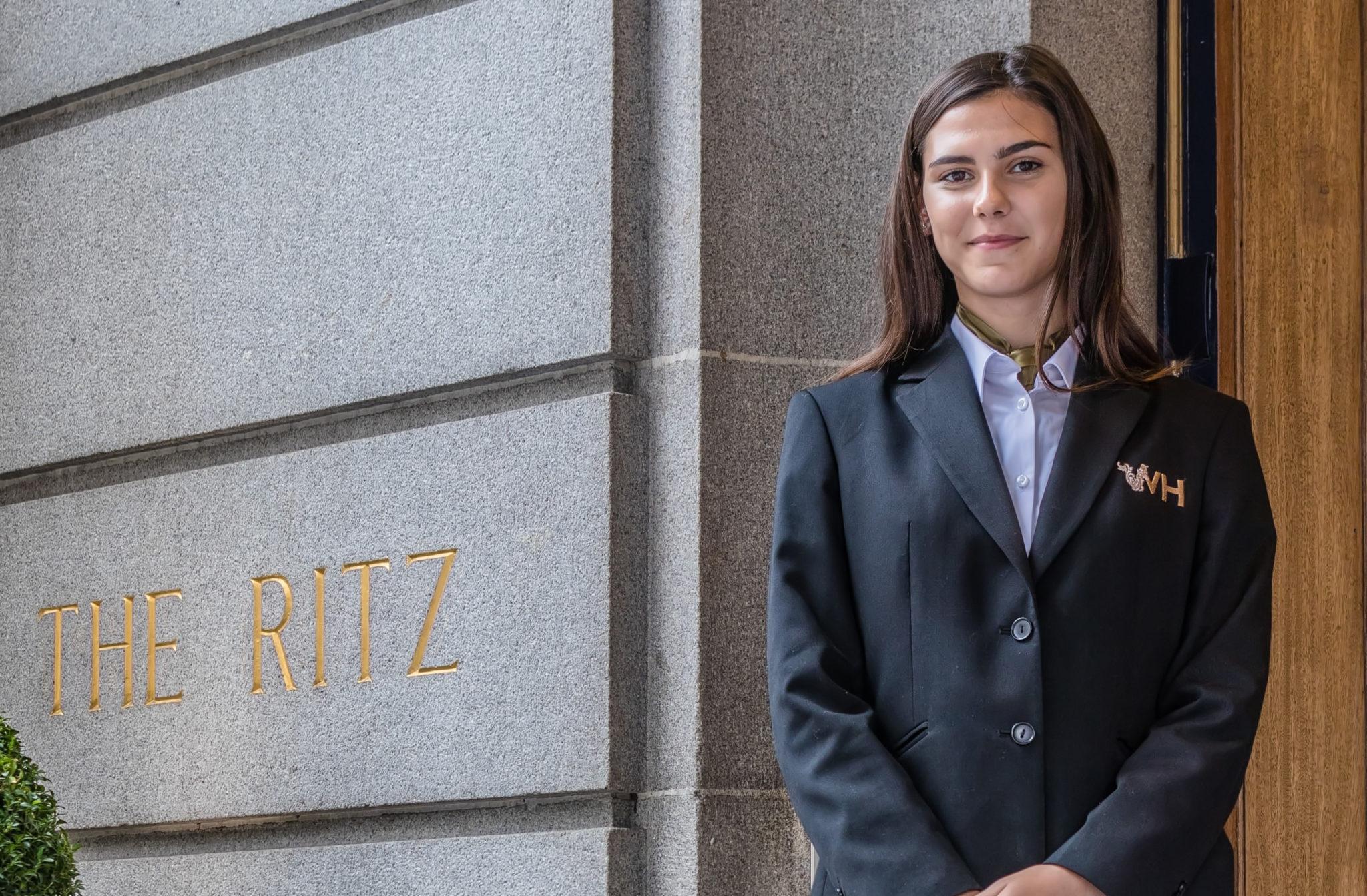 Jeri-Leigh Challen at The Ritz London