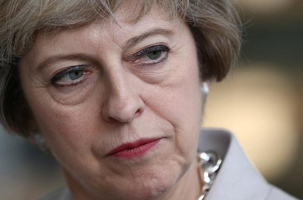 Theresa May Visits A Manufacturing Workshop
