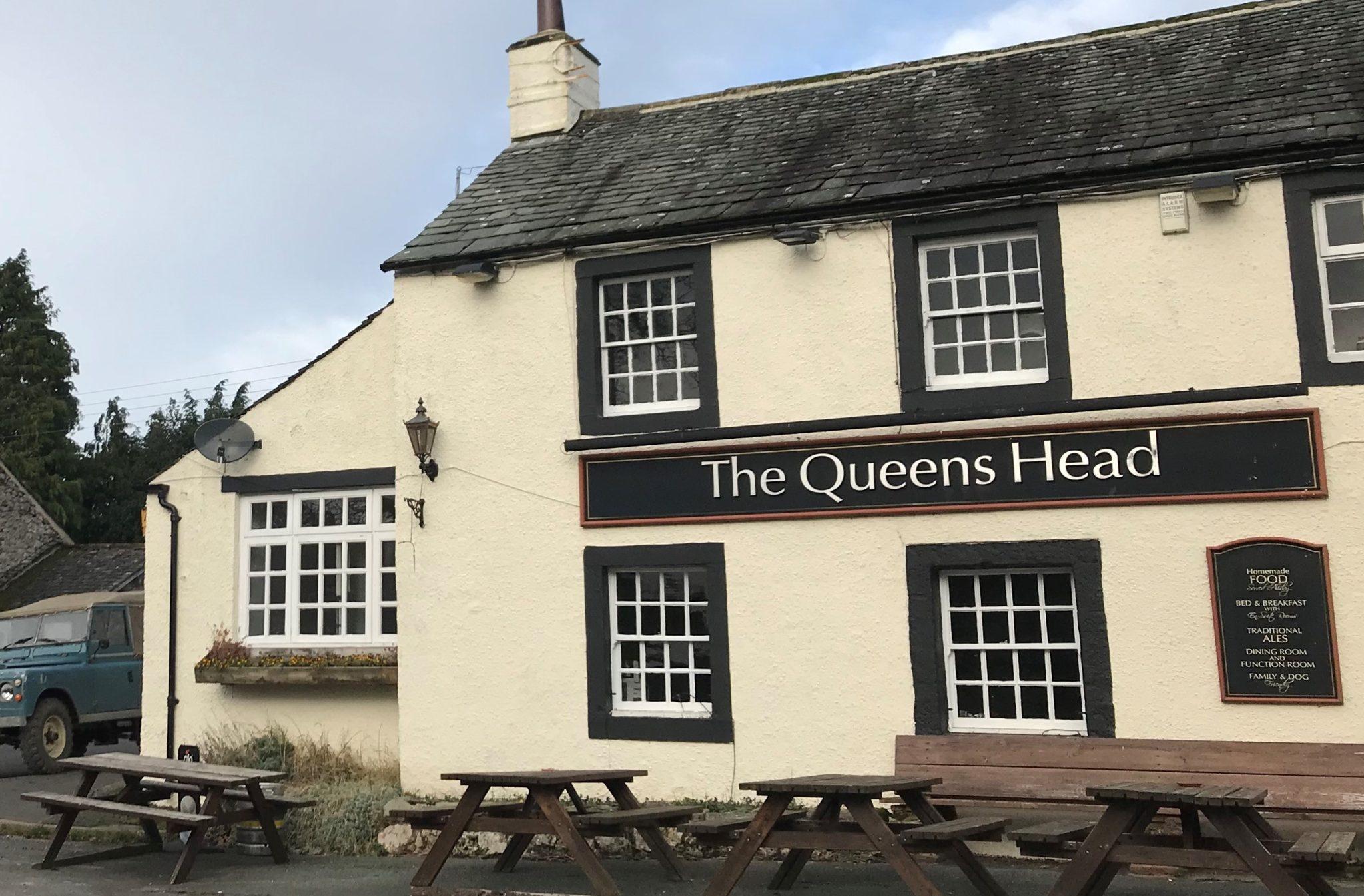 Queen's Head, Askham, exterior