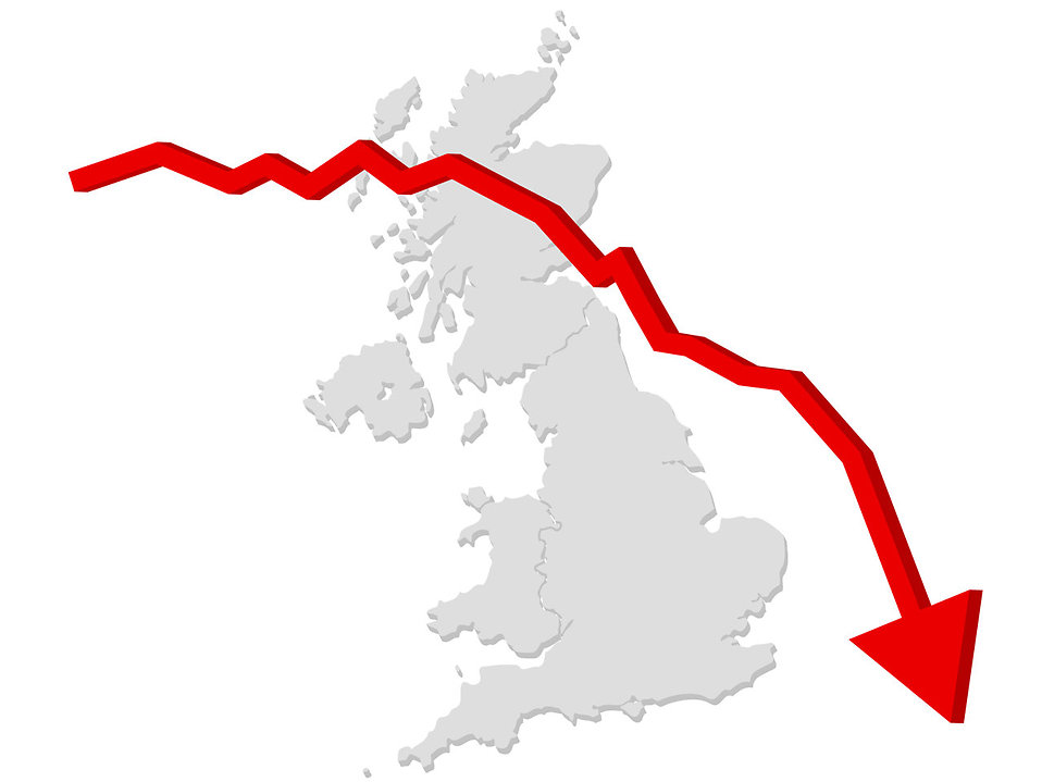 graph down