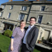 Sarah and Aidan Stevens owners of Stratton House Hotel.