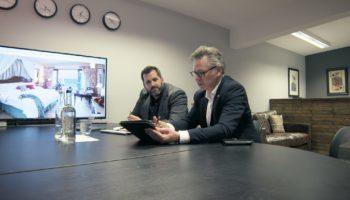 (left) Simon Bullingham (right) David Beasley