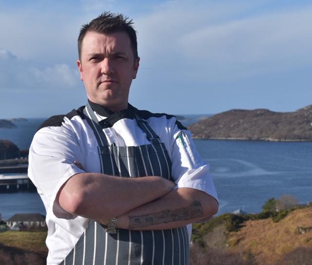 Stuart Blake head chef Inver Lodge Hotel