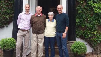 Chris (far left)