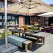 The Coach House's Courtyard at Great Fosters a Private Residence lr