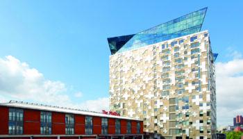 The Cube building, Birmingham, West Midlands, England, UK