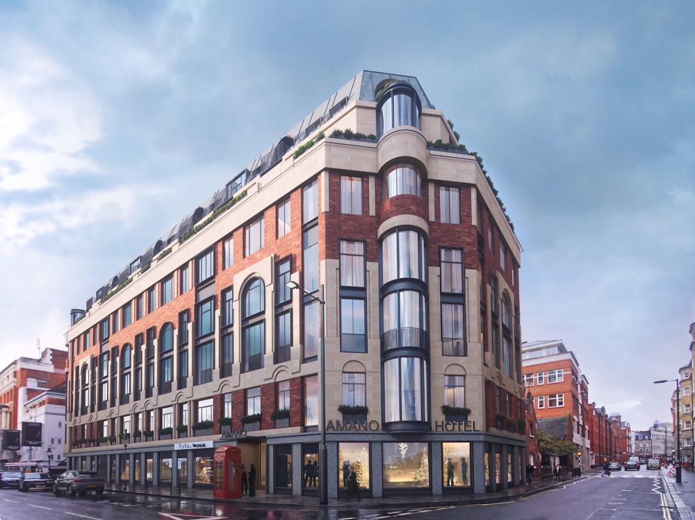 Amano Covent Garden – Exterior