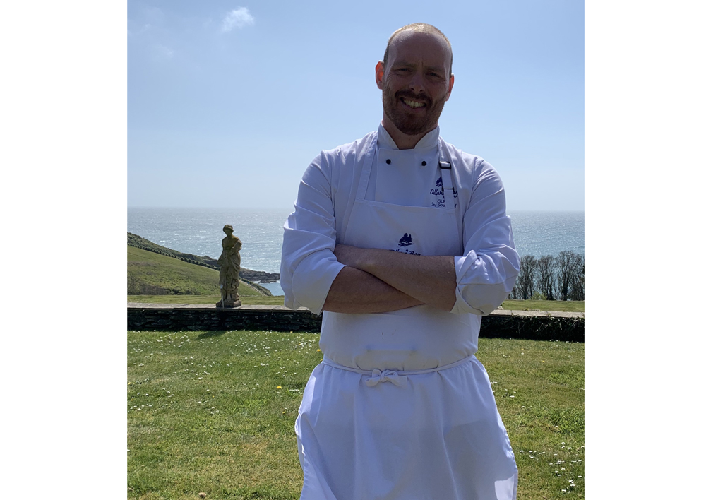 Glen Merriott head chef Talland Bay Hotel