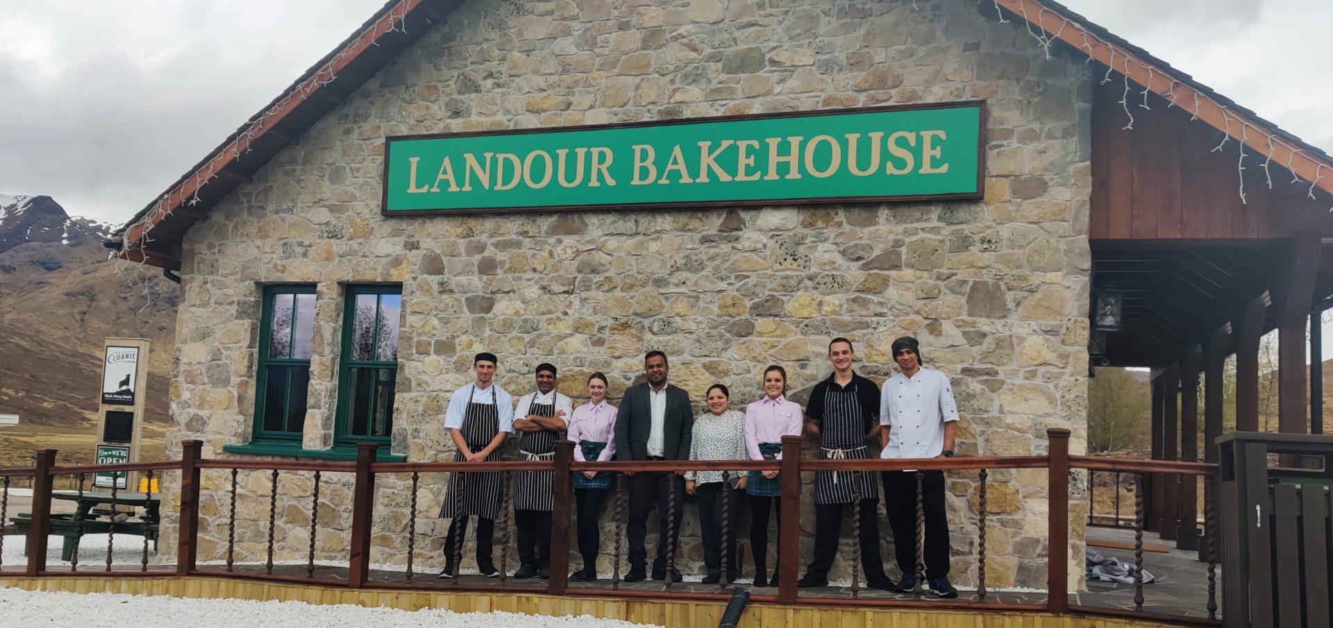 New team at Landour Bake House