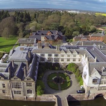 Coombe Abbey Aerial