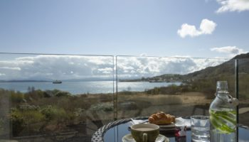 Isle of Mull Hotel _ Spa. Sea Deck with Ferry