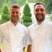 Jamie Jackson and Andy Hirst Le Talbooth June 2021