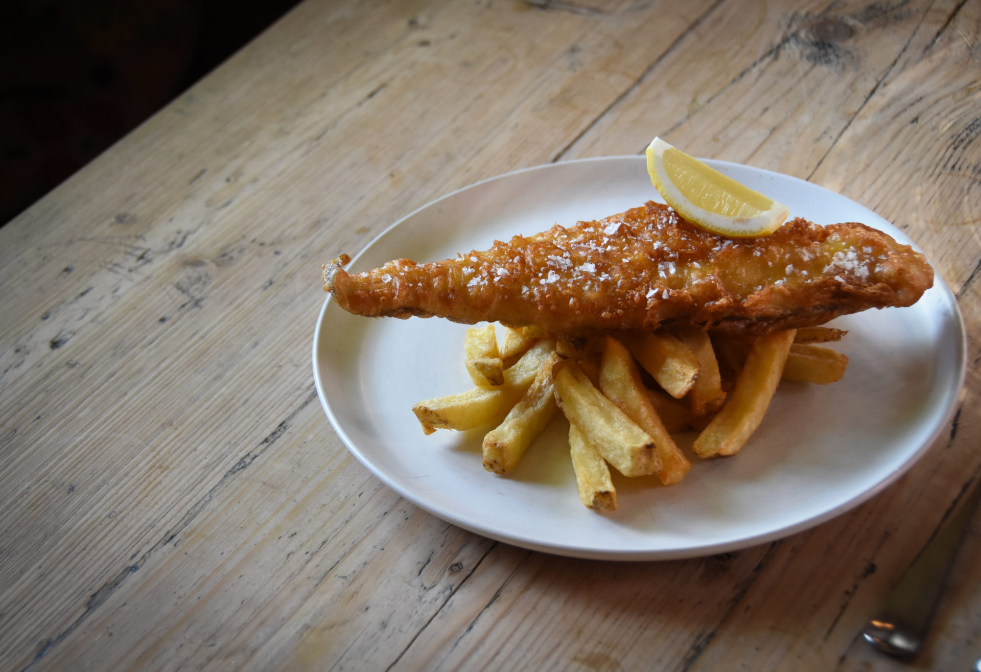 The Fox_Fish and Chips