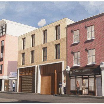 Montague Street Elevation