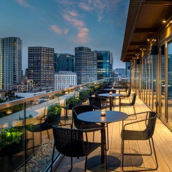 Hyatt Place London City East – Pocketsquare Rooftop Terrace