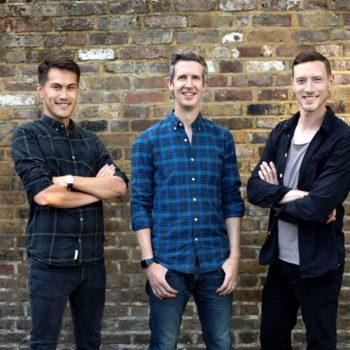 Trybe founders Steve Porter, Will Taylor-Jackson, Ricky Daniels
