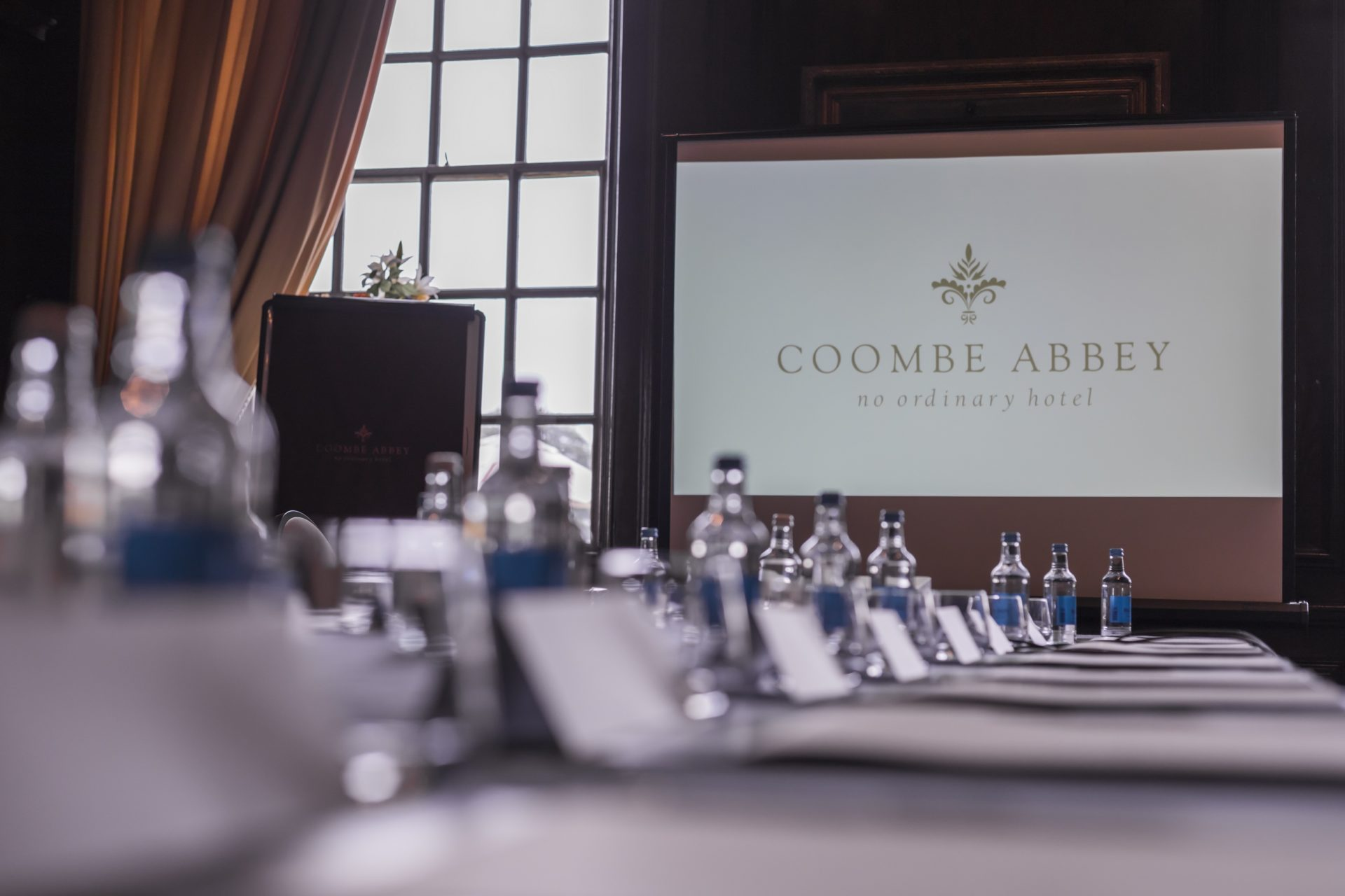 Coombe business meeting