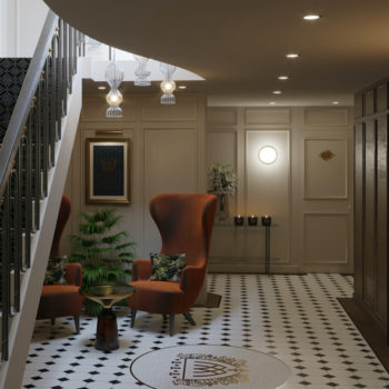 Wildes Hotel Group Chester Lobby Visual