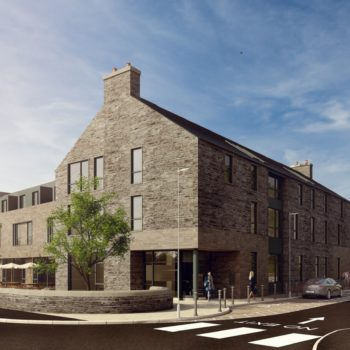 CGI of the new Bike and Boot hotel in Hope