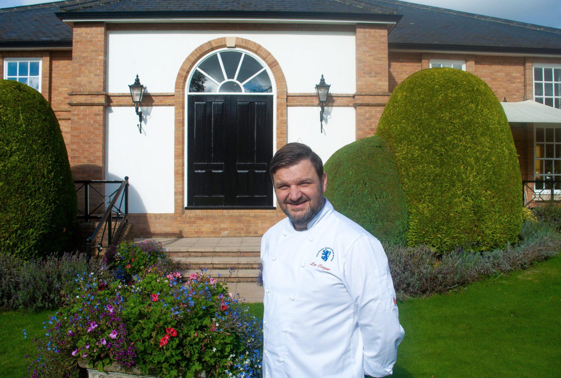 Lee Cooper Executive Head Chef Bedford Lodge